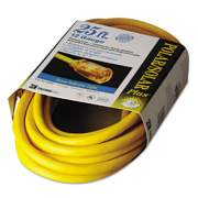 CCI Polar/Solar Indoor-Outdoor Extension Cord With Lighted End, 25ft, Yellow (01687)