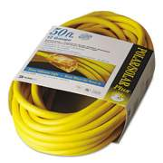 CCI Polar/solar Indoor-Outdoor Extension Cord With Lighted End, 50ft, Yellow (01688)