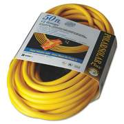 CCI Polar/Solar Outdoor Extension Cord, 50ft, Three-Outlets, Yellow (03488)