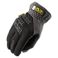Mechanix Wear FastFit Work Gloves, Black/Gray, Large (MFF-05-010)