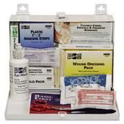 Pac-Kit 25-Person Steel First-Aid Kit, w/Eyewash (6100)