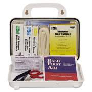 Pac-Kit ANSI Plus #10 Weatherproof First Aid Kit, 76-Pieces, Plastic Case (6410)