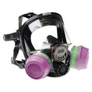 North by Honeywell 7600 Series Full-Facepiece Respirator Mask, Medium/Large (760008A)