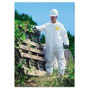 DuPont ProShield NexGen Coveralls, Zip Closure, Large (NG120SL)
