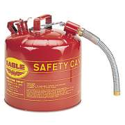 Eagle Type II Safety Can, 5 Gallon, Red, Metal Spout (U2-51-S)