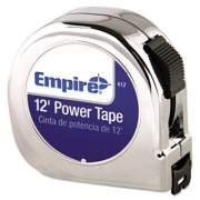 "Empire Power Tape Measure, 5/8"" x 12ft, Black Case (612)"
