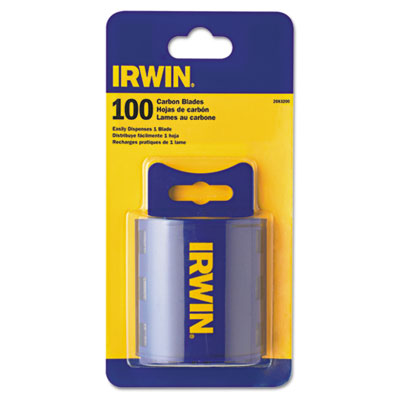 IRWIN Utility Knife Traditional Replacement Blades, 100 Pack (2083200)