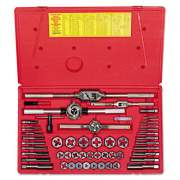 IRWIN HANSON Machine Screw/Fractional Tap and Die Super Set 24640
