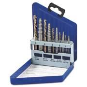 IRWIN 11119 HANSON Spiral-Flute Extractor/Drill Bit Set