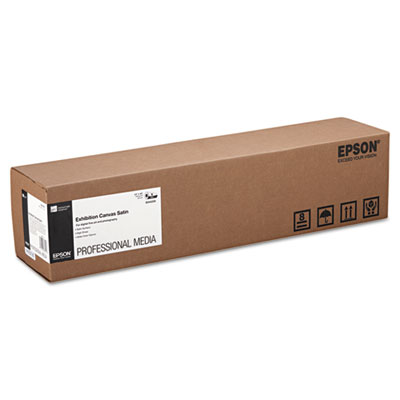 "Epson Exhibition Canvas, 23 mil, 24"" x 40 ft, Satin White (S045250)"