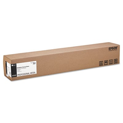 """Epson Exhibition Canvas, 22 mil, 36"""" x 40 ft, Glossy White (S045244)"""
