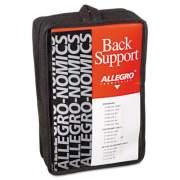 "Allegro Economy Back Support Belt, Large, 38"" to 47"" Waist, Black (717603)"