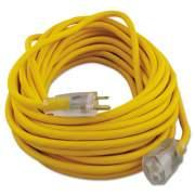 CCI Polar/Solar Outdoor Extension Cord, 50ft, Yellow (01488)
