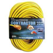 CCI Vinyl Outdoor Extension Cord, 100 Ft, 15 Amp, Yellow (25890002)