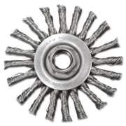 "Anderson Stringer-Bead Twist-Knot Wheel, 4"" dia, 1"" Trim, .20 Wire, 5/8"" Arbor (12575)"