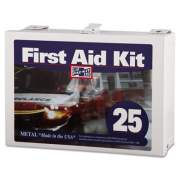 Pac-Kit First Aid Kit for Up to 25 People, 159-Pieces, Steel (6086)