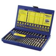 IRWIN 11135ZR 35-Piece SAE Screw Extractor/Drill Bit Set