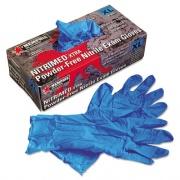 MCR Safety Nitri-Med Disposable Nitrile Gloves, Blue, X-Large, 100/Box (6012XL)