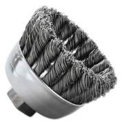 Weiler General-Duty Knot Wire Cup Brush 13258