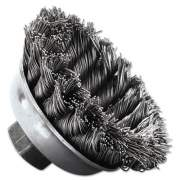 Weiler General-Duty Knot Wire Cup Brush 13156