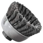 Weiler General-Duty Knot Wire Cup Brush 13025