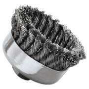 Weiler SR-4 General-Duty Knot Wire Cup Brush, .023 (12316)