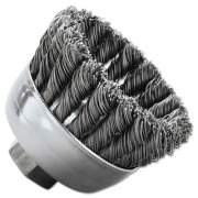 Weiler General-Duty Knot Wire Cup Brush 13286