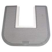 Fresh Products Disposable Floor Mat, Nonslip, Fresh Blast Scent, 23 X 21 5/8, Black, 6/carton (15505)