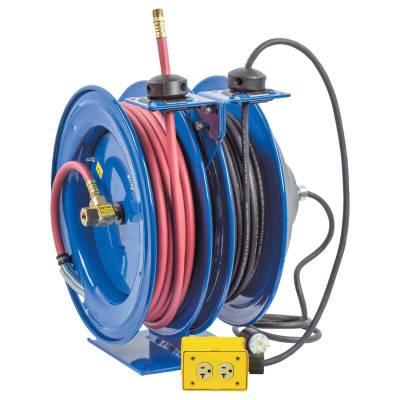 Coxreels C Series Combination Spring Driven Air Hose Reels (C-L350-5012-B)
