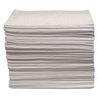 """Anchor Brand Oil Only Sorbent Pad 15""""x17"""", Heavy-Weight (AB-BPO100)"""