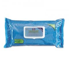 Sani Professional Hygea Adult Wash Cloths, 9 1/2 x 11 1/2, White, 60 Wipes/Tub, 6 Tubs/Carton (J14143)