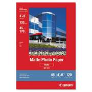 Canon Matte Photo Paper, 4 x 6, Matte White, 120/Pack (7981A014)