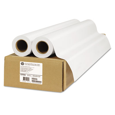 HP 2-pack Universal Adhesive Vinyl-1067 mm x 20 m (42 in x 66 ft) (C2T52A)