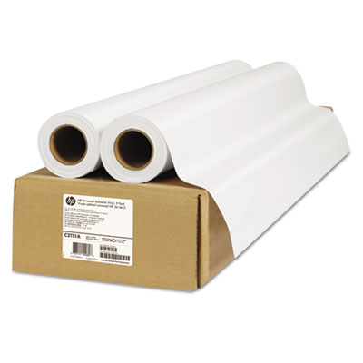 HP 2-pack Universal Adhesive Vinyl-914 mm x 20 m (36 in x 66 ft) (C2T51A)
