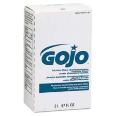 GOJO ANTIMICROBIAL LOTION SOAP W/CHLOROXYLENOL, FLORAL, 2,000 ML REFILL, 4/CARTON (2212)