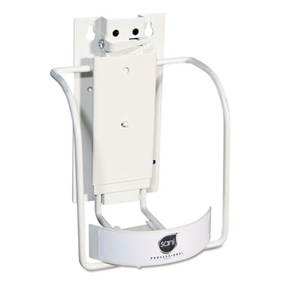 Sani Professional Universal 3-in-1 Sani-Bracket, Plastic/Vinyl-Coated Wire, 7l x 6.5w x 8h (NIC P010801)