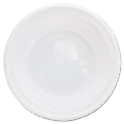 Dart Plastic Bowls, 5-6 Ounces, White, Round, 125/Pack (5BWWF)