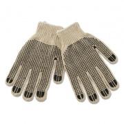 Boardwalk PVC-Dotted String Knit Gloves, Large, Dozen (792)