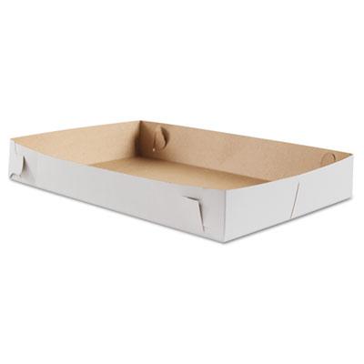 SCT Donut Trays, 17w x 11 1/2d x 2 1/2h, White, 100/Bundle (SCH 2021)