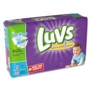 Luvs Diapers, Size 2: 12 lbs to 18 lbs, 40/Pack, 2 Pack/Carton (85923)