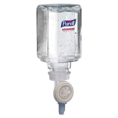 PURELL Advanced Gel Hand Sanitizer Refill, Clean Scent, 450 mL, 2/Pack (145002)