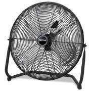 "Patton High Velocity Fan, Three-Speed, Black, 24 1/2""W x 8 5/8""H (PUF2010CBM)"