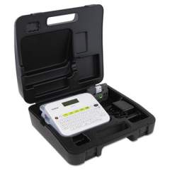 Brother PT-D400VP Versatile, Easy-to-Use Label Maker with Carry Case and Adapter, 5 Lines, 7.5 x 7 x 2.88