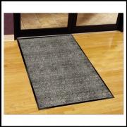 Guardian Silver Series Indoor Walk-Off Mat, Polypropylene, 36 x 60, Pepper/Salt (74030530)