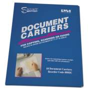 """Iconex Document Carrier for Copying, Scanning, Faxing, 8 1/2"""" x 11"""", Clear, 10/Pack (099DC)"""