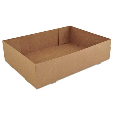 SCT Donut Trays, 13 1/2w x 9 7/8d x 3 3/8h, Brown, 250/Carton (SCH 1270)