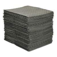 SPC MRO Plus Heavy Sorbent Pads, .26gal, 15w x 19l, Gray (MRO100)