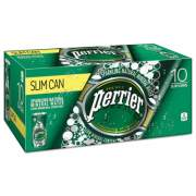 Perrier Sparkling Natural Mineral Water, 8 oz Can, 10/Pack, 3 Pack/Carton (12237498)