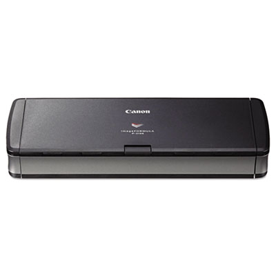 Canon imageFORMULA P-215II Personal Document Scanner, 600 dpi Optical Resolution, 20-Sheet Duplex Auto Document Feeder (9705B007)