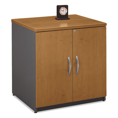 Bush Series C Collection 30W Storage Cabinet, Natural Cherry (WC72496A)